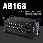 Allen & Heath выпускает мобильный модуль входов/выходов AB168 для серий Qu и GLD