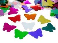 Металлизированное конфетти Multi Butterflies