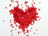 Металлизированное конфетти Red Heart